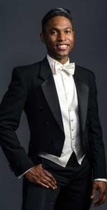 Photo of conductor and baritone Malcolm J. Merriweather